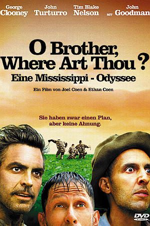 o brother where art thou poster  Filmempfehlung »O Brother,...